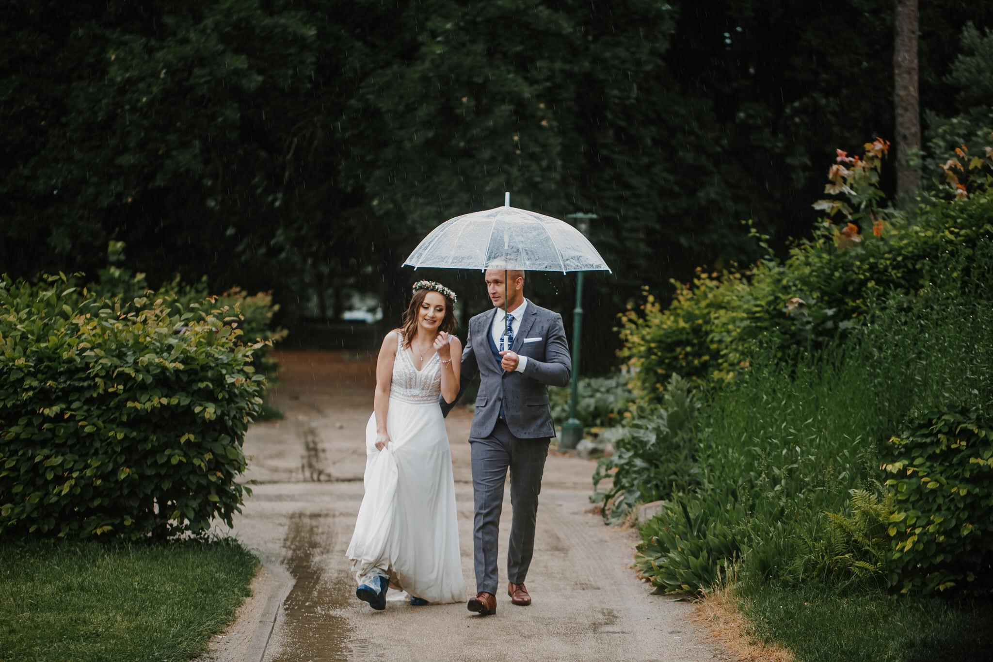Sesja Ślubna w deszczu | Zamość | 13.06.2021
